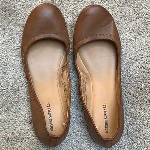 2/$10 Massimo ballet flats tan size 8